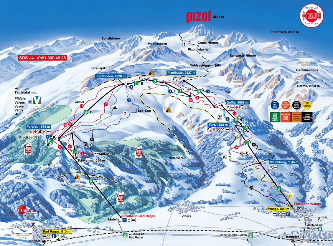 map jungfrau with Info Pizol on Ski 201 besides Info Pizol together with 2008 03 29 as well Interlaken in addition Glacier Express.